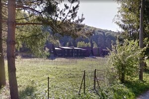 Opustený pioniersky tábor Jánošík v Drietome.