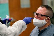 Testovanie na nový koroanvírus.