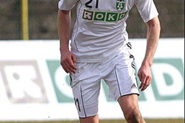 Eduard Gajdoš je v Karvinej od januára tohto roka. Predtým hral za Topoľčany.