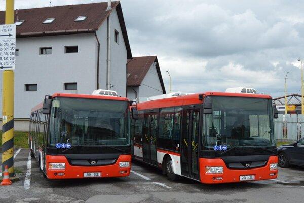 Nové prešovské autobusy.