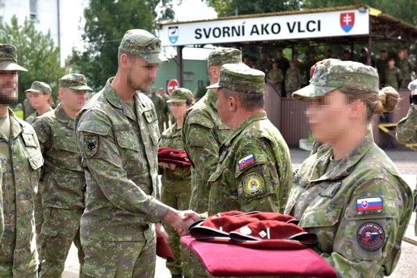 Trebišovské červené barety.