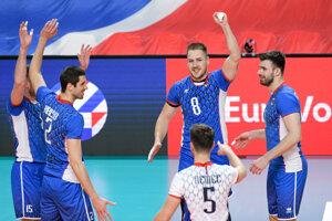 Slovenskí volejbalisti vstupujú do  majstrovstiev Európy.