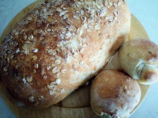 Pšenično-ovsený chlieb