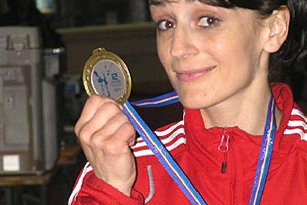 Monika Višňovská priviezla bronzovú medailu z Milána.