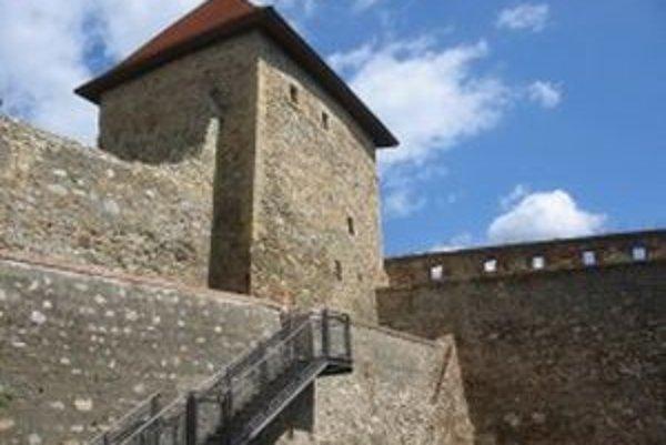 Vazulova veža na Nitrianskom hrade.