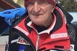 Zakladateľ lyžovania na tráve na Slovensku Miroslav Masár.