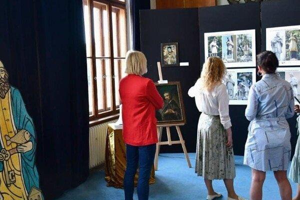 Výstava o Jánovi Nepomuckom.