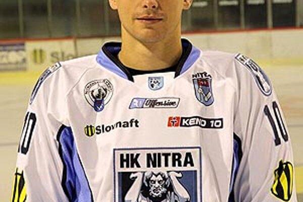 Gabriel Spilar patril v tejto sezóne medzi najlepších hráčov Nitry.