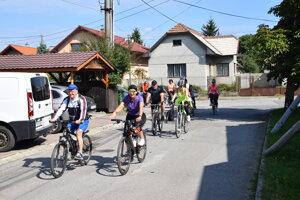 Martinský bicyklový deň mal tentoraz základňu v Žabokrekoch.