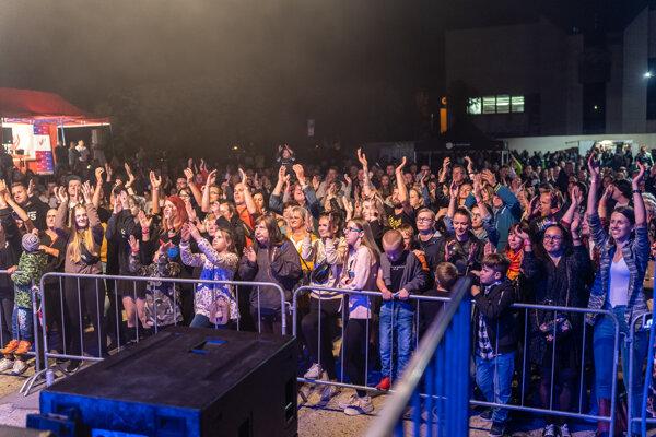 Atmosféra na koncerte bola plná pozitívnych emócií.