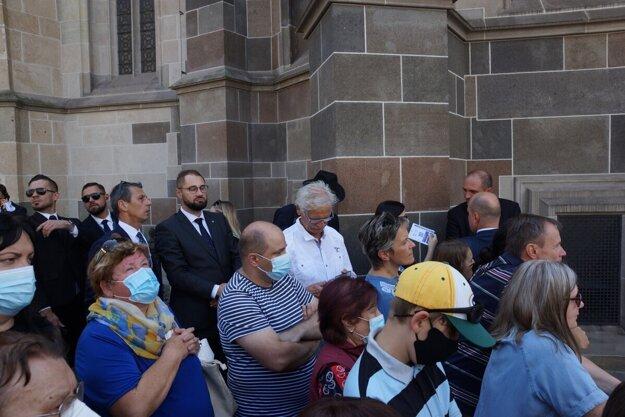 Pápežova návšteva Dómu v jeho košickom programe síce nebola, no mnohí dúfali, že sa uskutoční. Nakoniec bolo cítiť sklamanie.