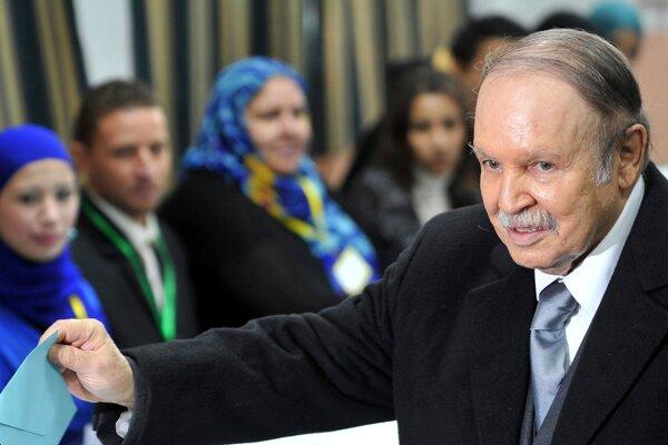 Abdal Azíz Buteflika.