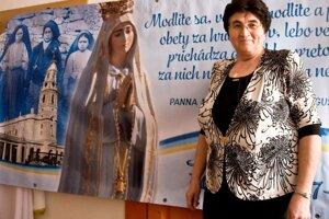 Marta Uchalová dlhé roky organizovala cesty do Medžugoria.