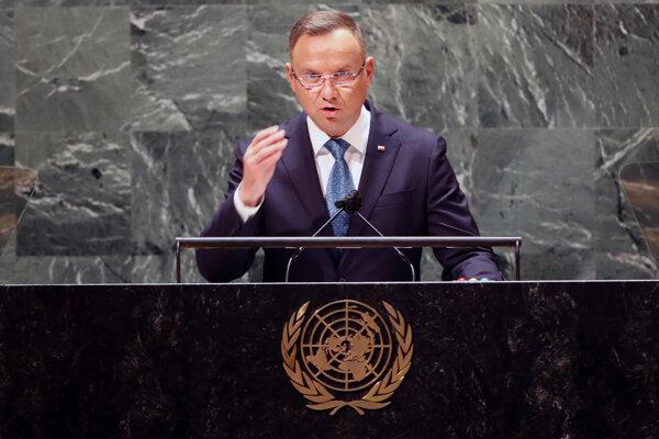 Andrzej Duda v OSN.