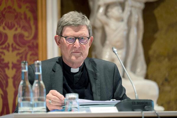 Kolínsky arcibiskup Rainer Maria Cardinal Woelki.