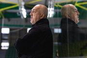 Tréner Žiliny Stanislav Škorvánek.