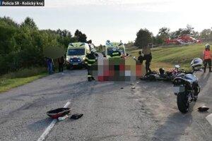 Nehoda sa stala pri obci Ladmovce