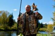 Putin na rybačke.