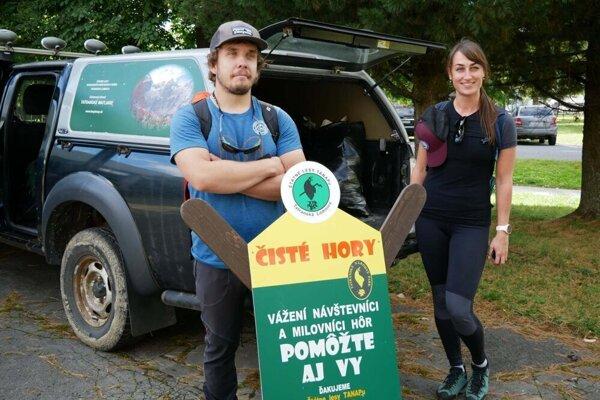 Do akcie Čisté hory sa zapojili aj mladí z ôsmich európskych krajín.