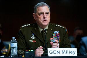 Generál Mark Milley, predseda Zboru náčelníkov štábov.