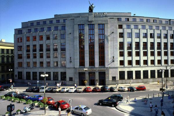 Budova Českej národnej banky (Zdroj: www.cnb.cz)