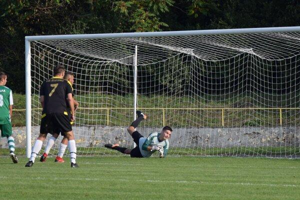 Gól Želiezovčanov na 2:2 v zápase proti Salke.