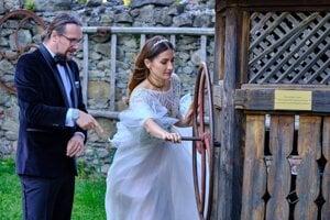 Mário a Alexandra na svadbe vo Finticiach.