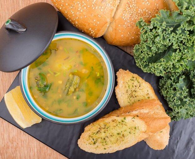 Varíme s Korzárom: Kelová polievka, obed, ktorý zahreje. K receptu sa dostanete preklikom cez obrázok.