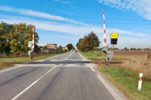 Opravovať budú priecestie trate Šurany - Palárikovo.