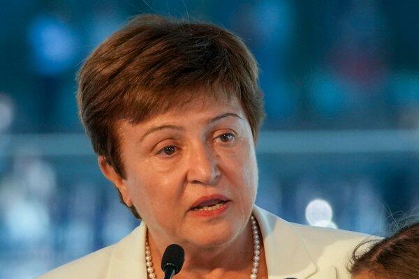 Kristalina Georgievová, šéfka Medzinárodného menového fondu.