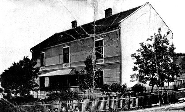 Budova okresného súdu rok 1905