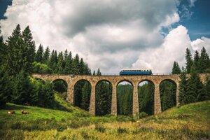Chmarošský viadukt.