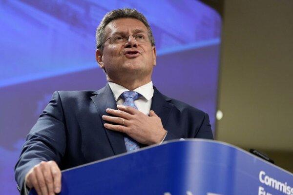 Podpredseda Európskej komisieMaroš Šefčovič.
