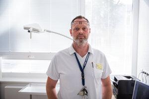 Traumatológ Daniel Knapp