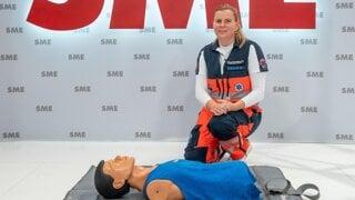 Záchranárka: Lepšia je akákoľvek prvá pomoc ako žiadna