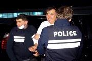 Bývalý gruzínsky premiér Michail Saakašvili.