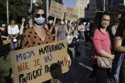 Keď naposledy prešiel sprísňujúci návrh do druhého čítania, ženy v Bratislave protestovali.