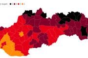 Okresy podľa covid automatu.