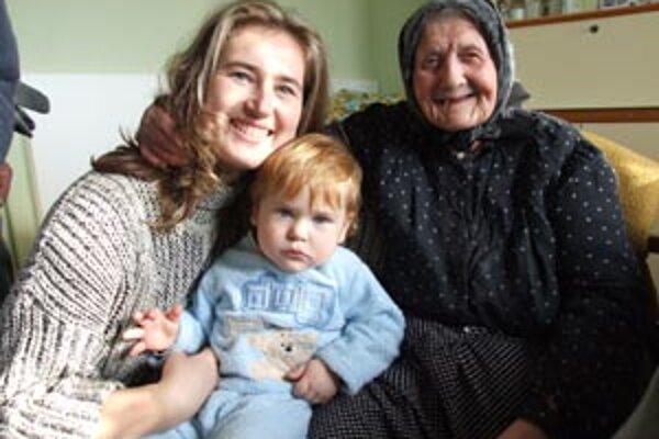 Mária Galbavá je obklopená množstvom príbuzných. Jej vnučka Mária Berecová je už druhé volebné obdobie v politike.