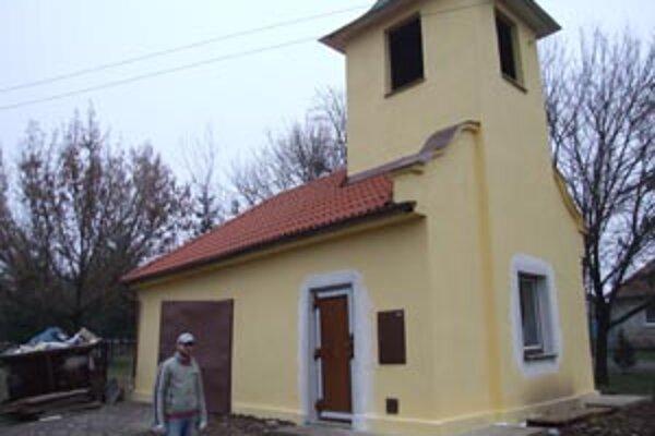 Mesto zvonicu dalo opraviť. Stálo to 8 030 eur.