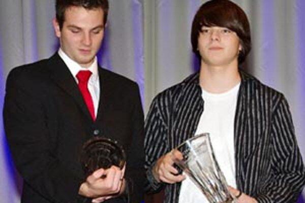 Výbornú sezónu má za sebou tak Filip (vľavo), ako aj Samo.