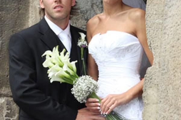 Peter Kostoláni so svojou vyvolenou Katkou.