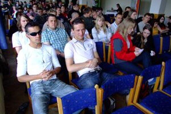 Na podujatie prišli študenti z troch škôl zameraných na poľnohospodárstvo.