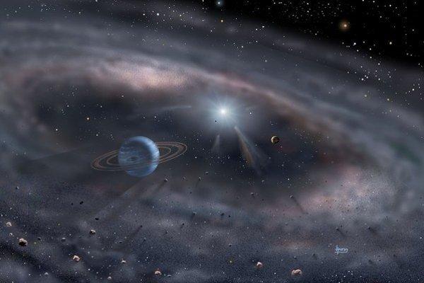 Plynné planéty ako Jupiter a Saturn potrebovali pri vzniku veľa času na odstránenie konkurencie.