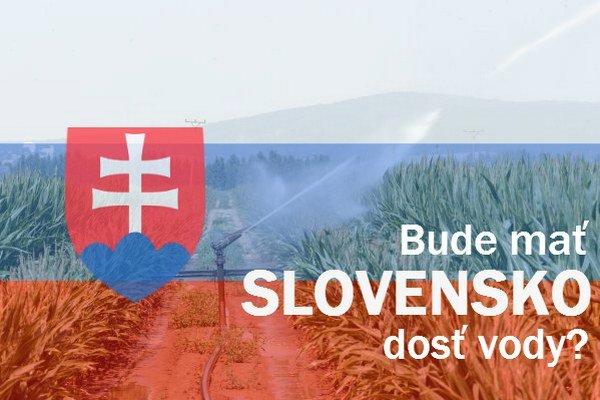 Vody je na Slovensku zatiaľ dosť, nadmerné využívanie a klimatické zmeny môžu spôsobiť jej úbytok.