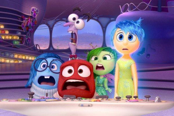 Hlavnými postavami v novom animovanom filme sú tentokrát ľudské emócie. Tie narobia pekný zmätok v hlave malej Riley.
