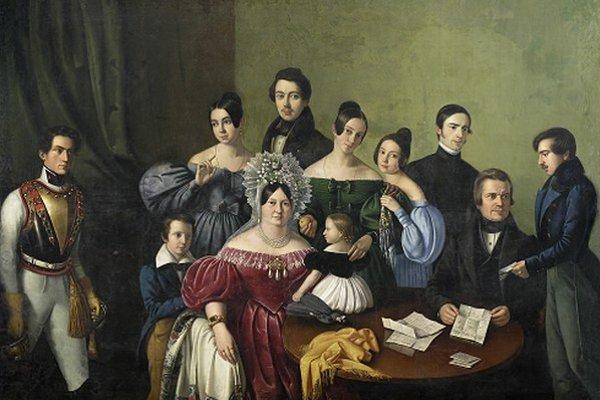 Výstava Biedermeier je jedným z ďalších projektov Slovenskej národnej galérie, mapujúcim rôznorodé 19. storočie. Približuje štýl, ktorý ukazuje, čo mala spoločné a čím sa líšila strednáa vysoká šľachta. Vľavo jeden z najkrajších skupinových portrétov bi