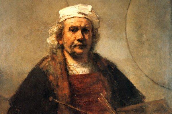 Rijksmuseum  sprístupnilo na  webe všetko a urobilo revolúciu. Vyzvalo ľudí, aby s obrázkami pracovalia recyklovali ich, ako sa len dá.Rembrandtov autoportrét, rok 1659–1660