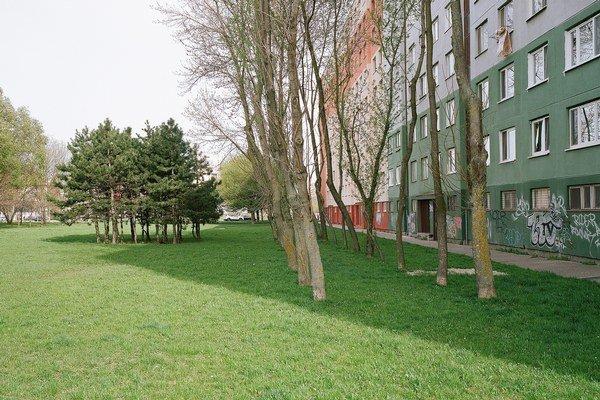 Belinského ulica, Bratislava, miesto Podtáboru Holzweberschule