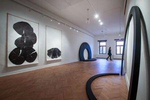 Z aktuálnej výstavy v galérii Baníckeho múzea v Rožňave s názvom BA – KE: Kauza socha, na ktorej vystavujú Ján Hoffstädter, Peter Roller, Marián Straka a Ján Zelinka.